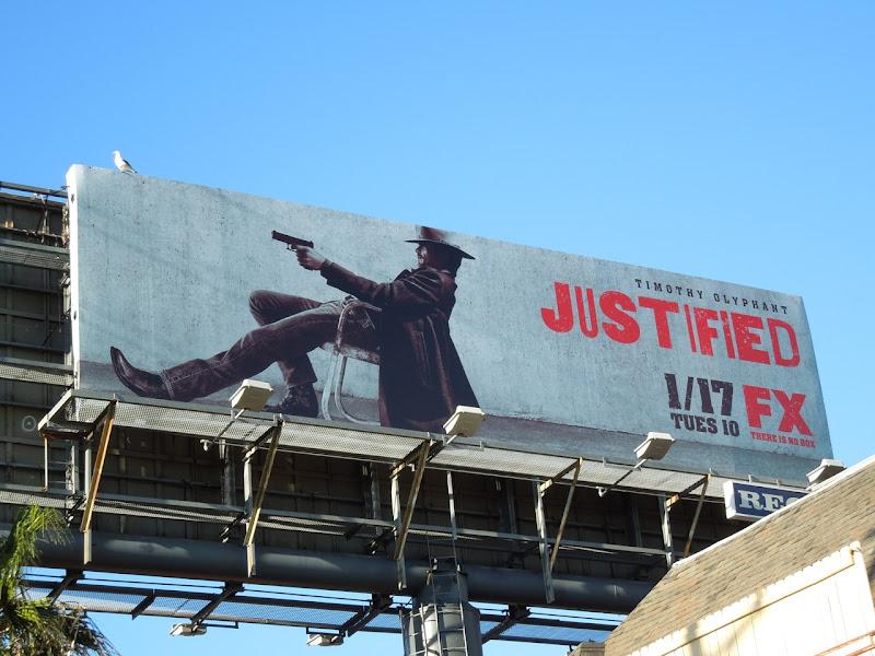 Justified season 3 billboard