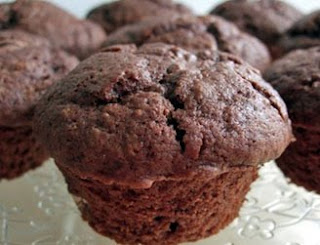 Fat-Reduced Chocolate Cupcakes