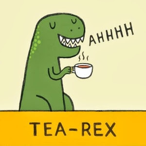 tea-rex cartoon