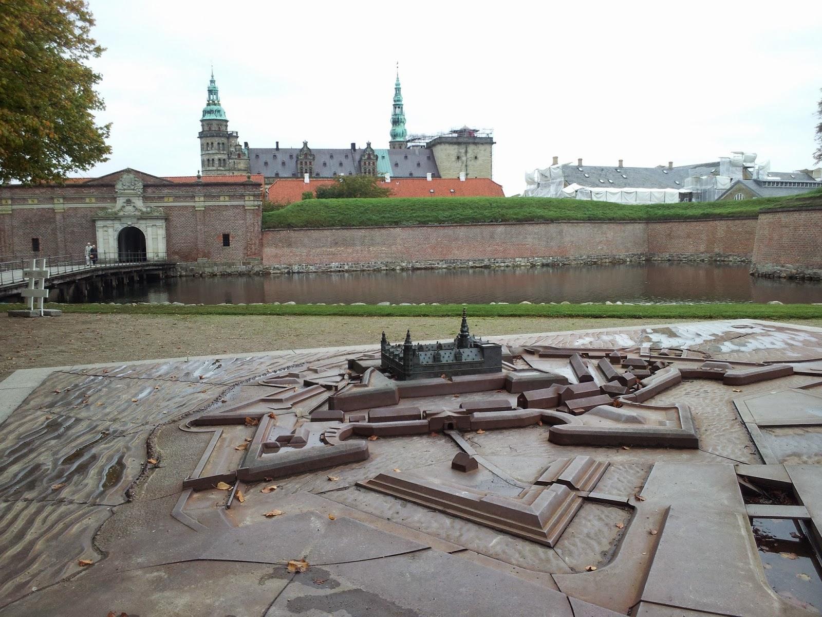 Hamlet Castle Drawing Kronborg Castle Known as