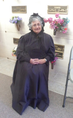 Barbara Alfidi's Funeral of Abraham Lincoln Display