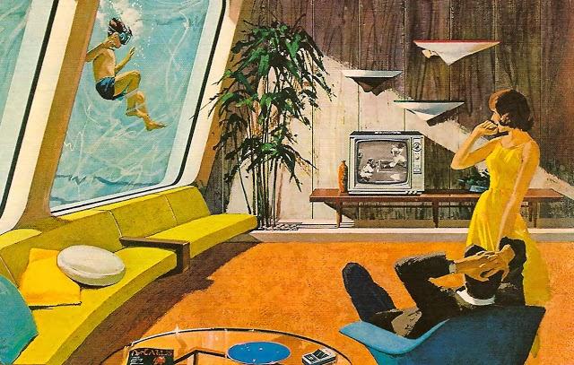Curiositykilledthescott Retro Futurism 1950s Style