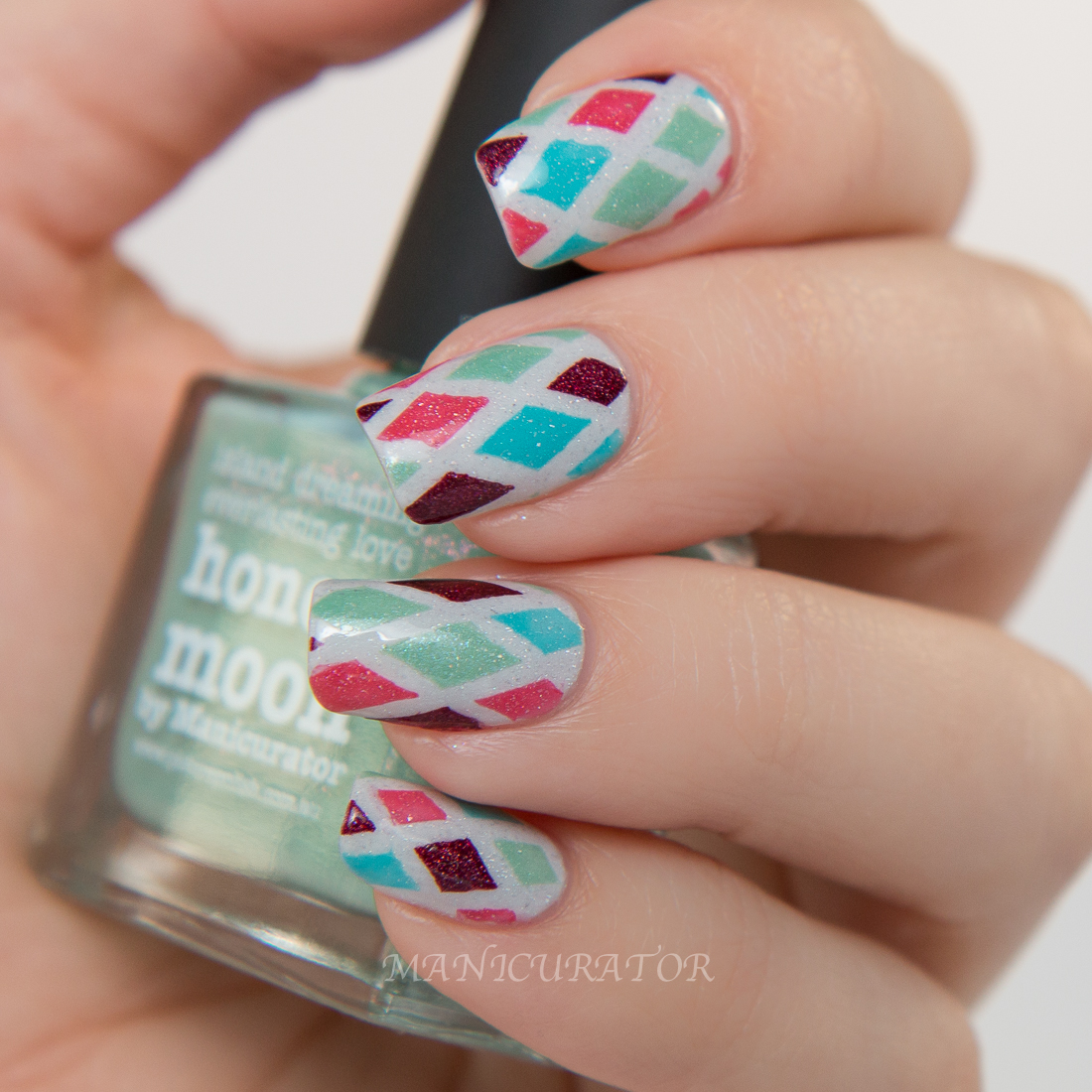 picture-polish-honeymoon-cyan-moscow-paris-lakodom-argyle-nail-art