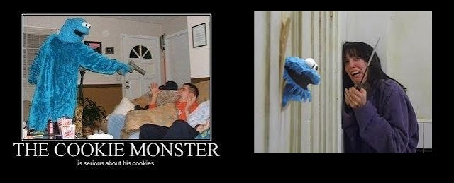 Cookie Monster terrorism - we should have known (from mobypicture.com ...