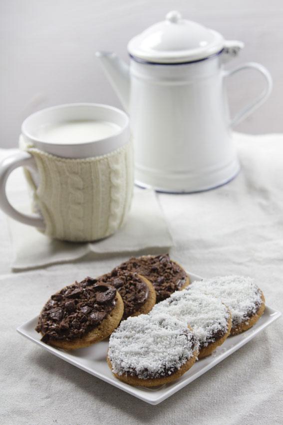 Un soltero en la cocina galletas blanco y negro for Un soltero en la cocina