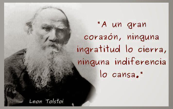 frases de León Tolstói