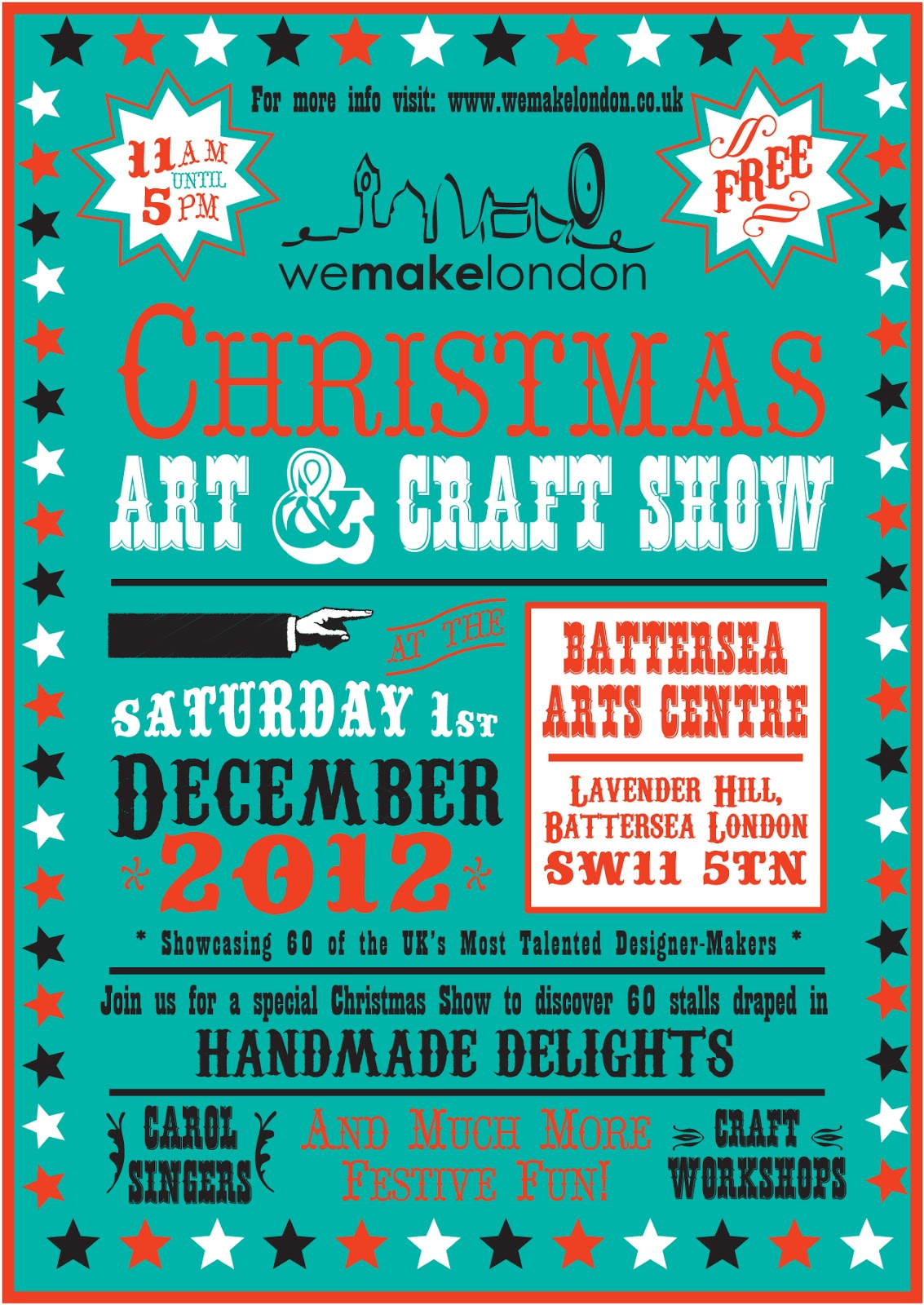 London Pop-ups: We Make London Christmas Art and Craft Show in Battersea