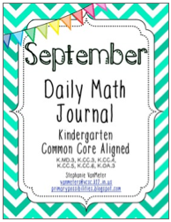 http://www.teacherspayteachers.com/Product/September-Daily-Math-Journal-Common-Core-Aligned-756592