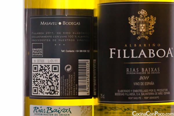 Albariño Fillaboa 2011 - D. O. Rías Baixas - Masaveu Bodegas