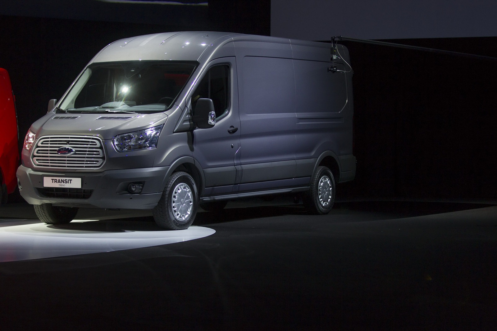 """ event officially introduced the new generation 2014 model Transit"