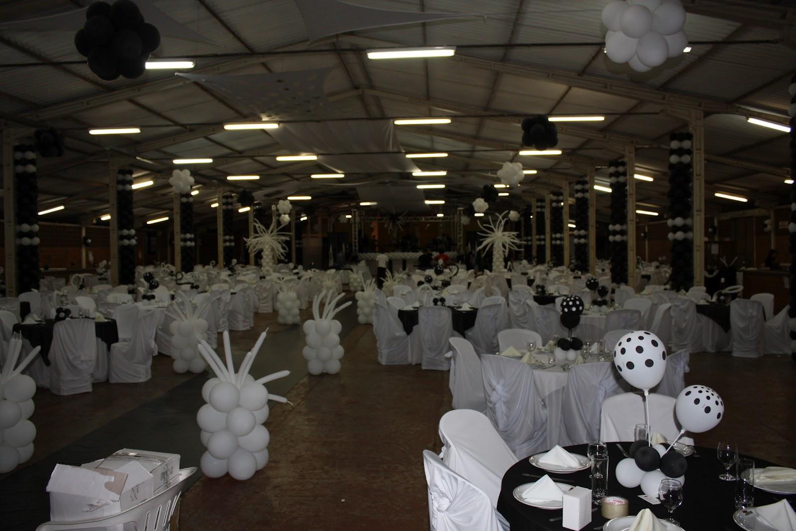 ... , festas e Eventos em Toledo e Regi?o.: Decora??o Preto e Branco