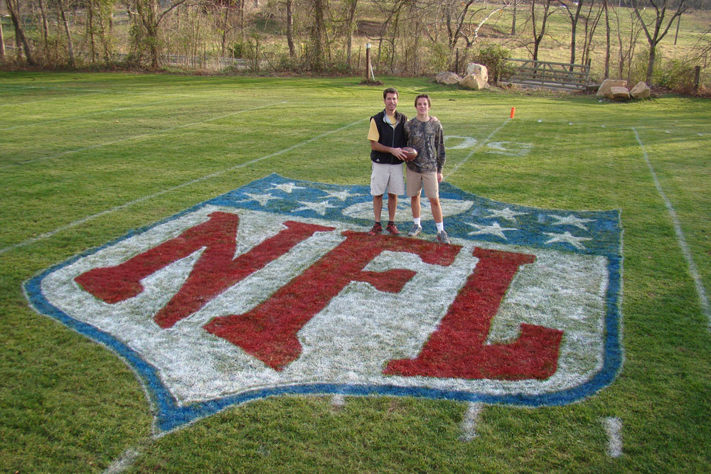 Football Field In Your Backyard : Czabecom Sunday Roundup Veterans Day, Johnny Football, The