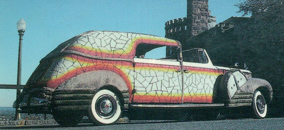 Hoop MOSAICMOBILE art car