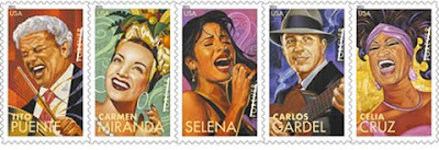 US Latin stamps