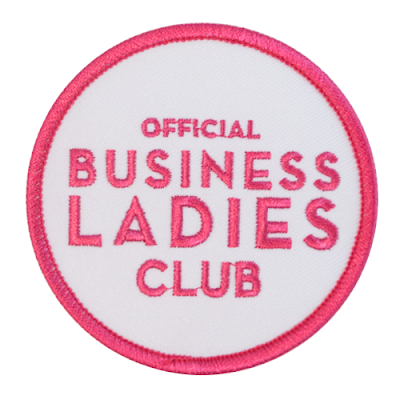 Official Business Ladies Club Patch from Constellation & Co.