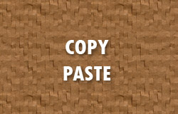 Aturan Copy Paste