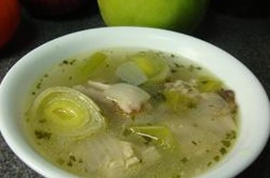 mary mary quite contrary: Cock-a-Leekie Soup