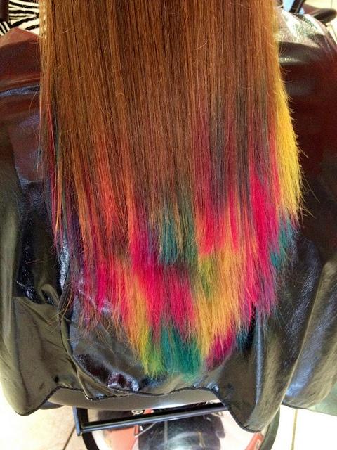 Adorable Rainbow Hairstyles The HairCut Web