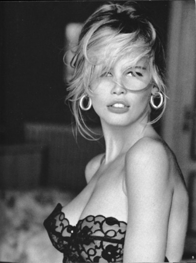 Claudia Schiffer by Ellen Von Unweth for Guess 1991
