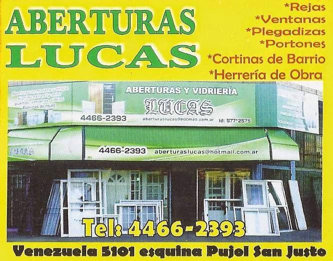 ABERTURAS ''LUCAS''