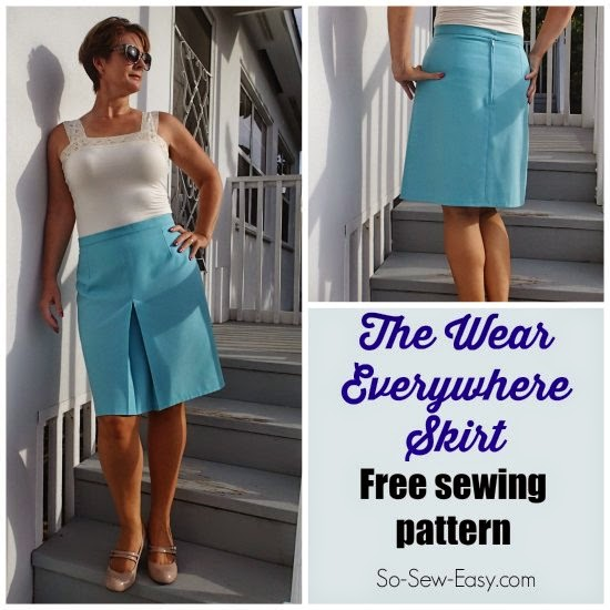 Comfortable Skirt sewing pattern
