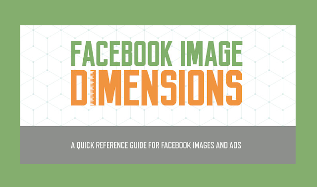 Every #Facebook advertising and marketing image dimension in one place! - #socialmedia #Infographic