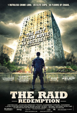 Filme Poster The Raid: Redemption HDRip XviD & RMVB Legendado