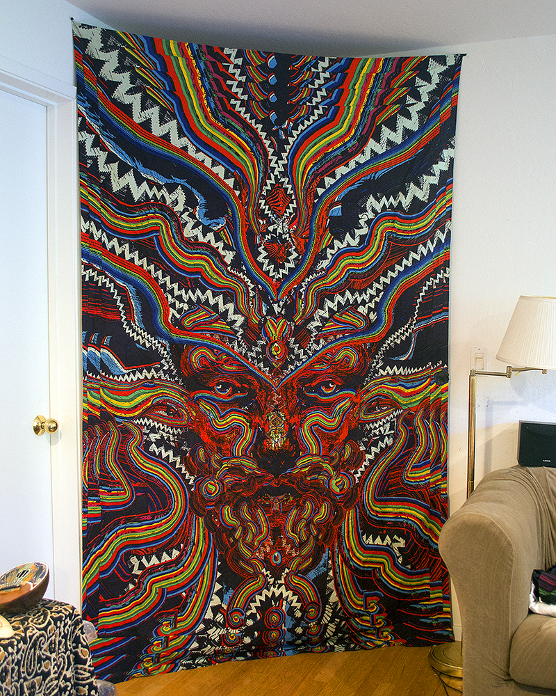 25 psychedelic tapestries and where to buy. Black Bedroom Furniture Sets. Home Design Ideas