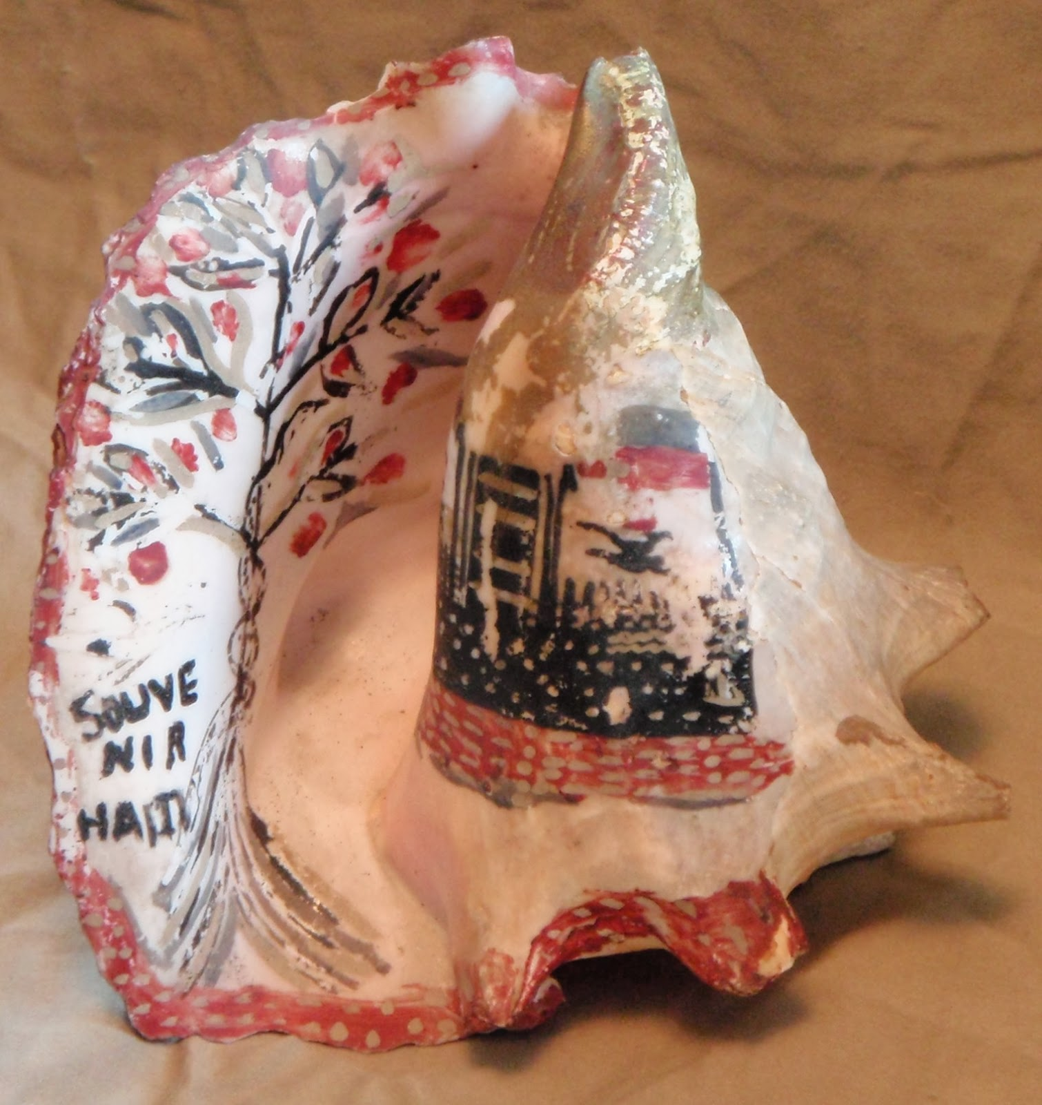 the painted conch shells of haiti classic folk art of