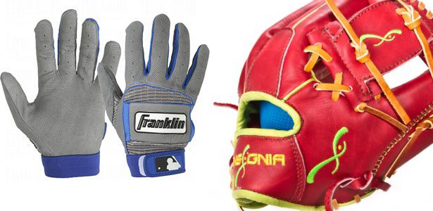 batter and other customize baseball gloves