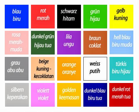 die Farben (Warna-Warna dalam bahasa Jerman)