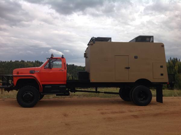Used Rvs Ford F700 4x4 Expedition Camper For Sale For Sale