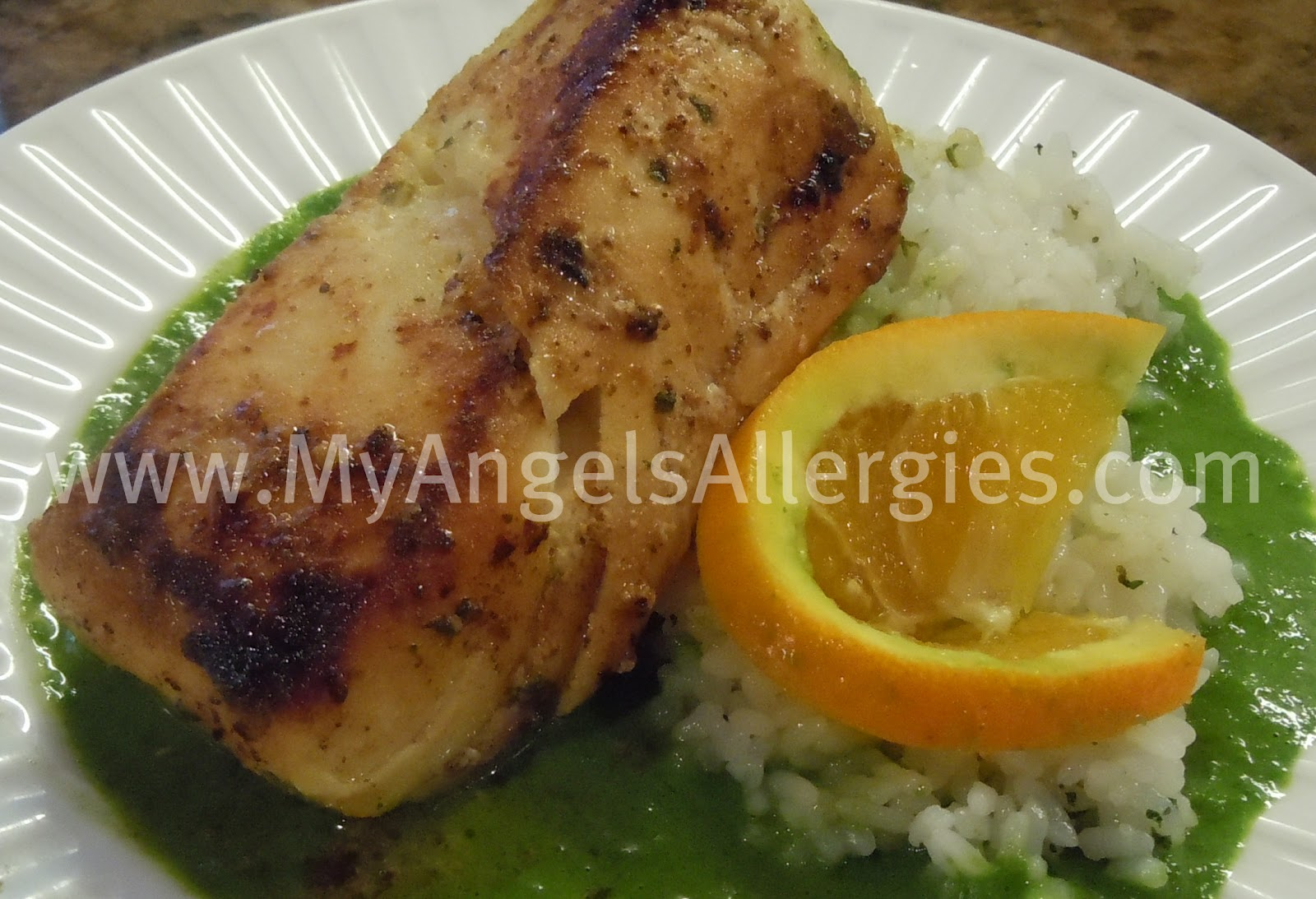 grilled halibut with chimichurri recipes dishmaps grilled halibut ...
