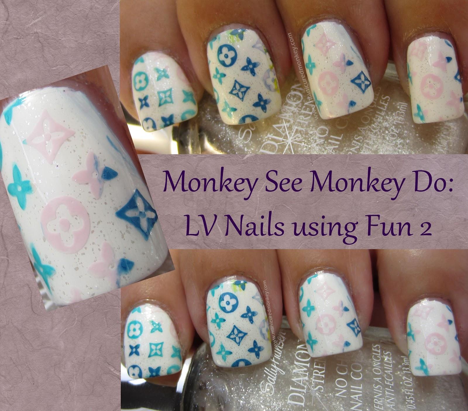 The Manicured Monkey: Monkey See Monkey Do Monday: Multi-Colored ...