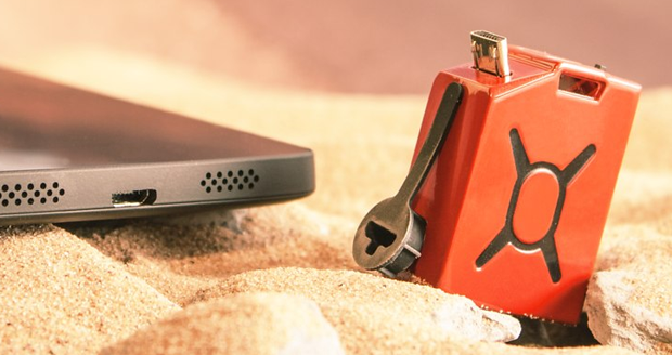 Fuel: World's Smallest Cell Phone Charger