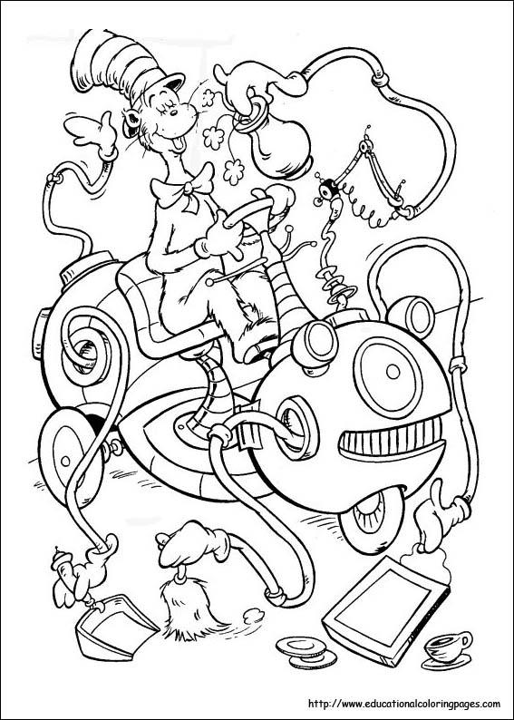 dr. seuss,dr. seuss coloring pages,kids coloring pages title=