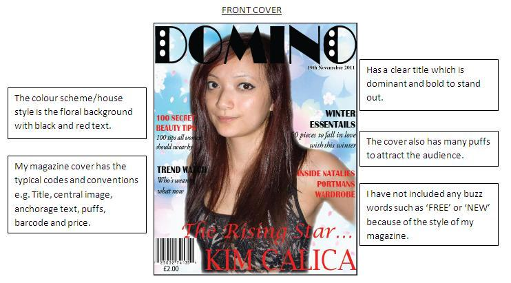 The Only Weakness Of My Magazine Is That I Should Have Used All Original  Images Instead Of Substituting One For A Image I Have Found On The Internet  To ...