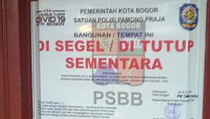 Pasca Penyegelan Exclusive, Pemkot Bogor Saling Lempar Tanggung Jawab