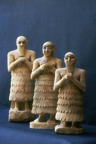 vous écoutez quoi à l\'instant - Page 4 Statuettes+Sumer+Tell+Asmar