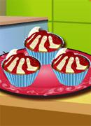 Готовим вишневые кексы - Онлайн игра для девочек