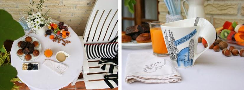 Desayuno al aire libre con la nueva laza New Wave Barcelona de Villeroy & Boch3
