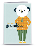Scandinavian style cards for grandparents