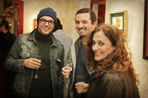 Inauguración muestra de Liniers