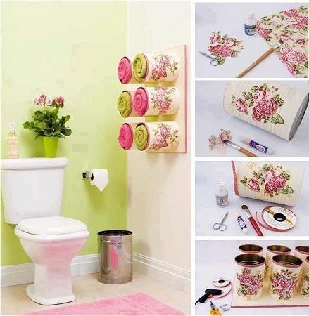 Como hacer toalleros para ba o muebles y for Accesorios para decorar banos
