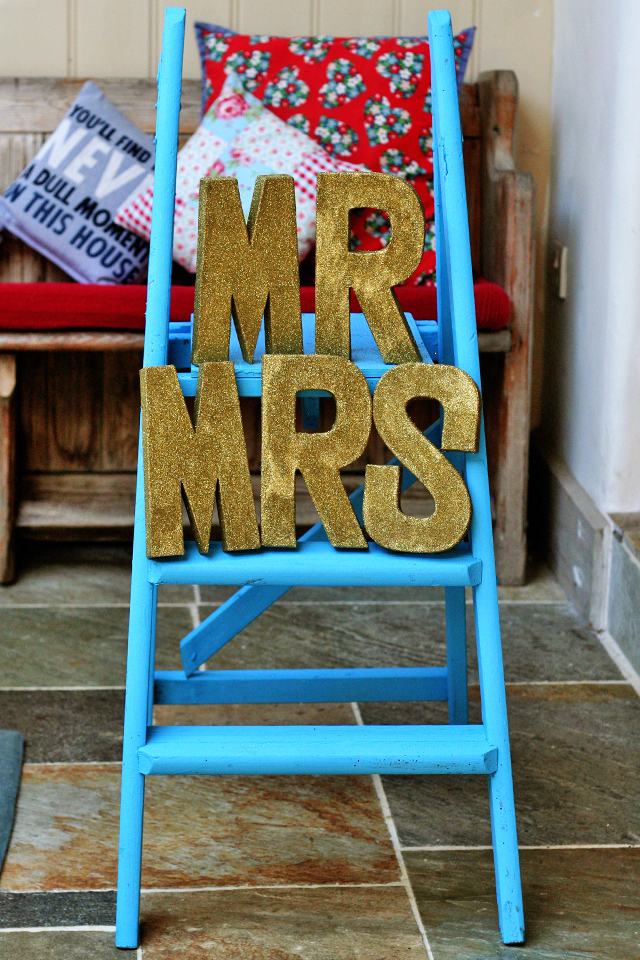 Wedding Diary: One month to go!