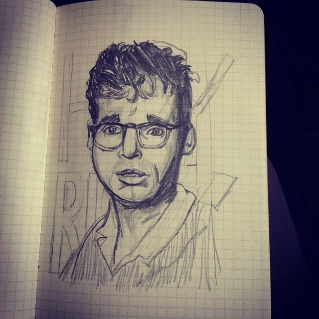 Moranis Hand Drawn Illustration - Ben J Hutchison