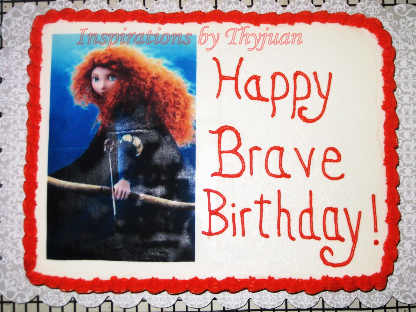 Seen the movie brave and wanted a brave birthday party