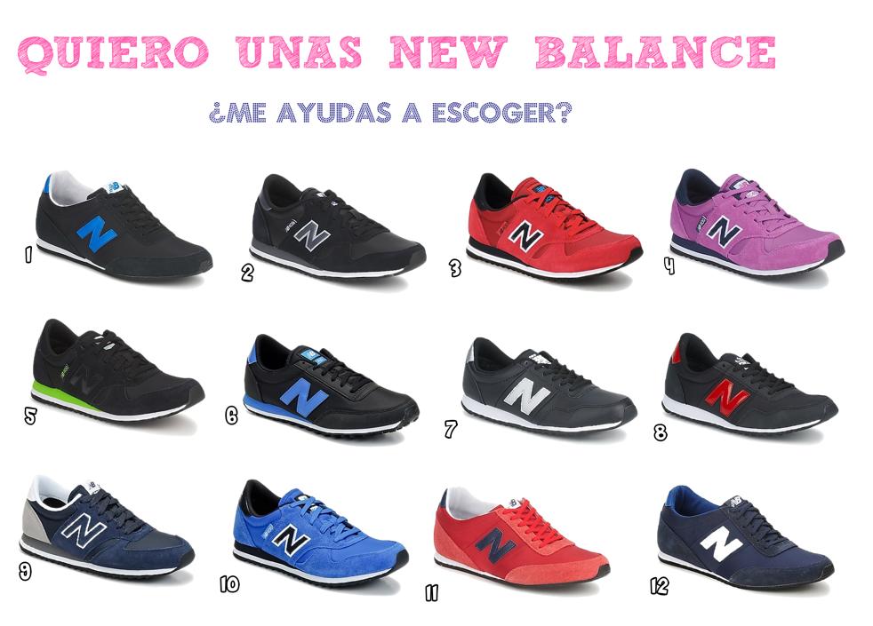 new balance mujer finas