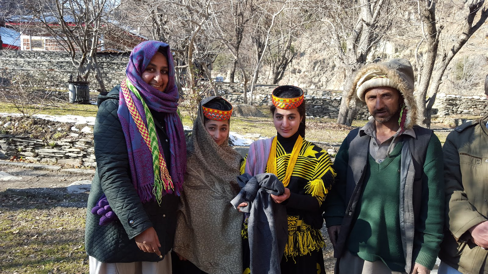 AHF CLOTHING DISTRIBUTION IN CHITRAL