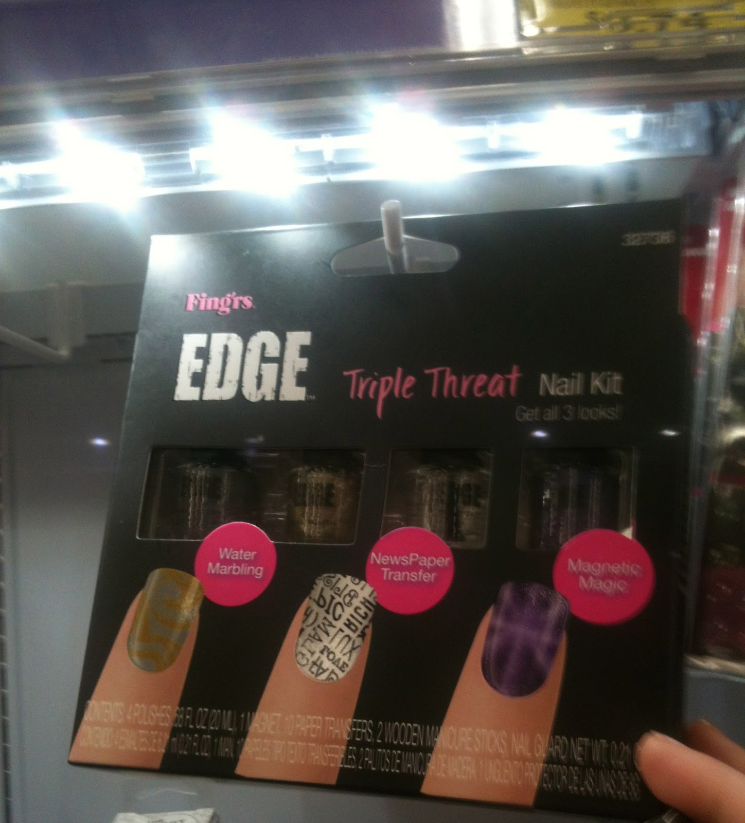 Oh Three Oh Four: Walmart\'s New Nail Aisle